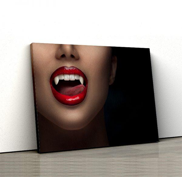 1 tablou canvas Buze de vampir