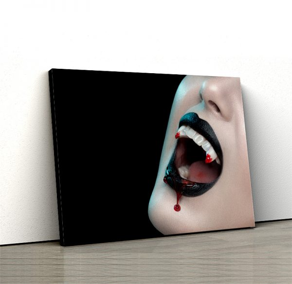 1 tablou canvas Colti de vampir