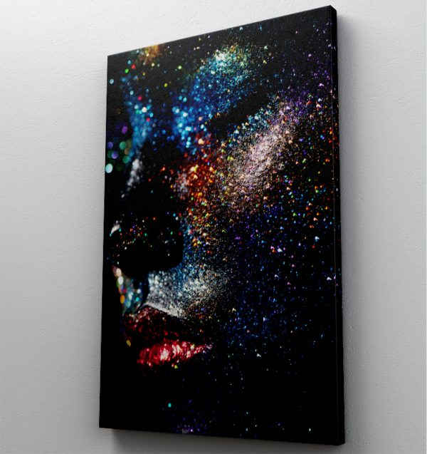 1 tablou canvas Fata din lumni