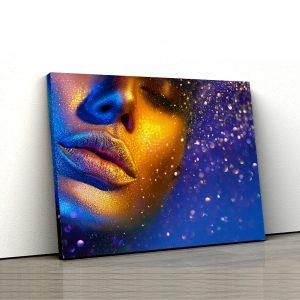 1 tablou canvas Pulbere de aur