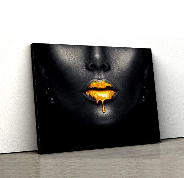 1 tablou canvas Sarut de aur