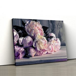 1 tablou canvas Tablou canvas Floral Buchet de bujori