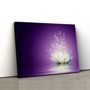 1 tablou canvas Tablou canvas Floral Lotus