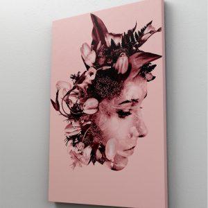 1 tablou canvas expunere dubla woman
