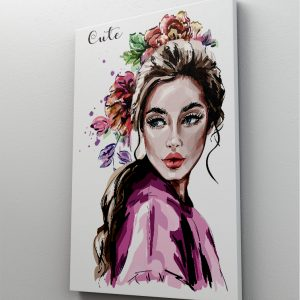 1 tablou canvas fashion woman