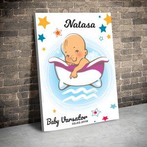3 tablou canvas Baby Varsator