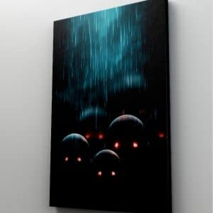 1 tablou canvas Tablou canvas Fantasy Ochi in intuneric