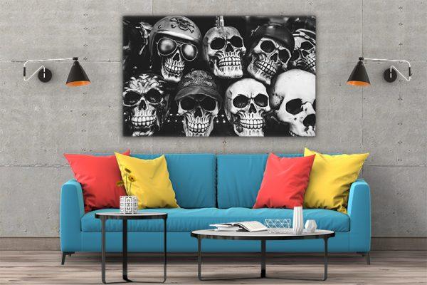 3 tablou canvas Tablou canvas Fantasy Cranii