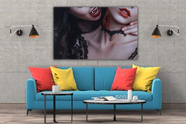 3 tablou canvas Tablou canvas Fantasy Femei vampir