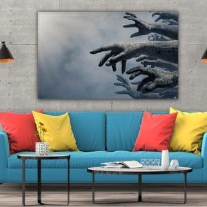 3 tablou canvas Tablou canvas Fantasy Maini murdare