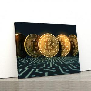 Tablou canvas Motivationale Bitcoin