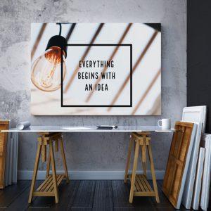 Tablou canvas Motivationale Idea2