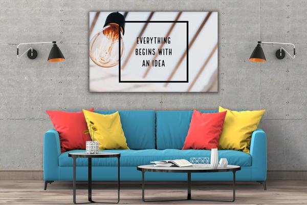 Tablou canvas Motivationale Idea3