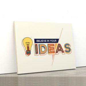 Tablou canvas Motivationale Ideas