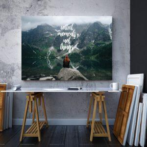 Tablou canvas Motivationale Moments2