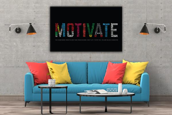 Tablou canvas Motivationale Motivate2