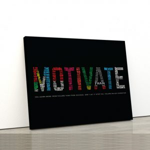 Tablou canvas Motivationale Motivate3