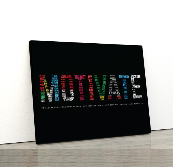 Tablou canvas Motivationale Motivate3