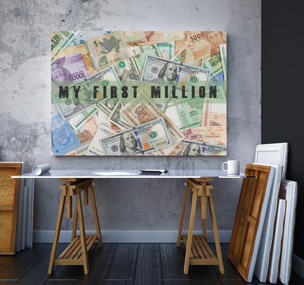 Tablou canvas motivationale The Milion2