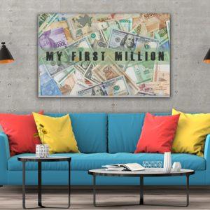 Tablou canvas motivationale The Milion3