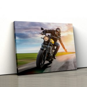 CVS717 Motociclist pe drum 1
