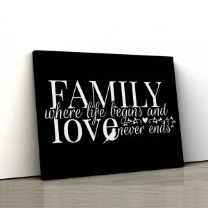 CVS726 Familie love black 1
