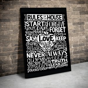 CVS732 Rules of the house 1