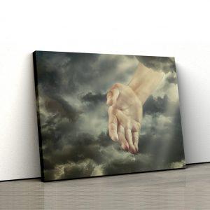 CVS761 Tablou canvas religios Mana din Cer 1