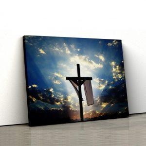 CVS766 Tablou canvas religios Sfanta Cruce