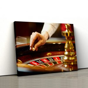 CVS769 Tablou Canvas Ruleta casino 3