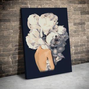 CVS775 Tablou canvas Portret flowerhair 1