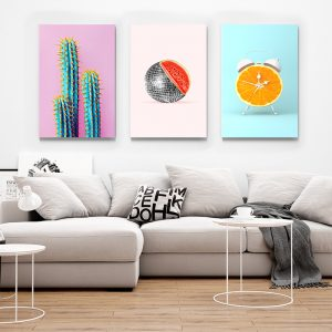 CVS792 Tablou multi canvas Obiecte 1