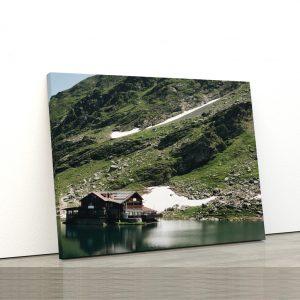 CVS805 Tablou Canvas Peisaj Balea lake Fagaras 1