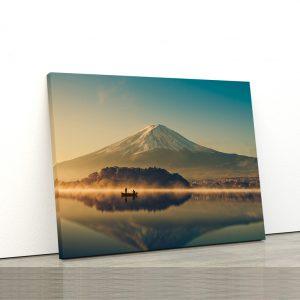 CVS808 Tablou Canvas Peisaj Lake sunrise 1