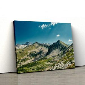 CVS814 Tablou Canvas Peisaj Mountain ridge 1