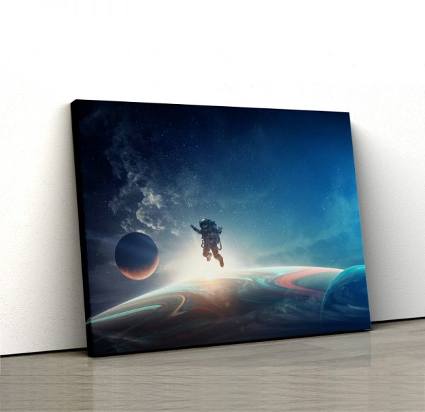 Tablou canvas Calatorind prin univers 1