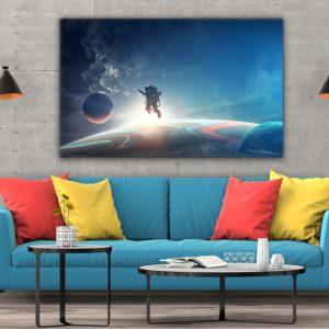 Tablou canvas Calatorind prin univers 3