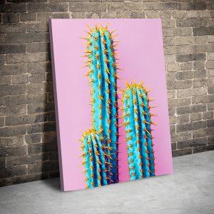Tablou canvas abstract Cactusi 1