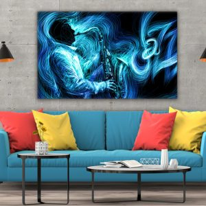 Tablou canvas abstract Jazz 3