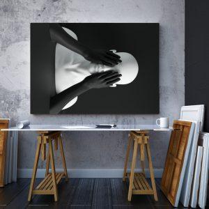 Tablou canvas abstract Manechin 2