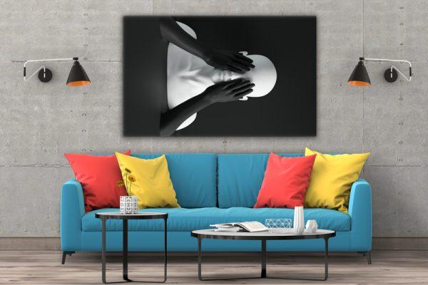 Tablou canvas abstract Manechin 3
