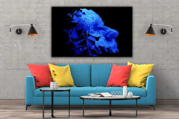 Tablou canvas abstract Masca 3