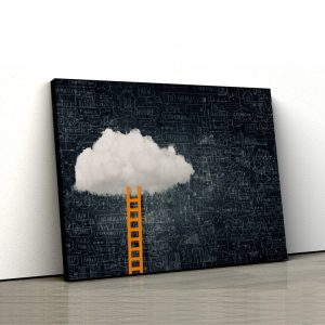 Tablou canvas abstract Sky is the limit 1