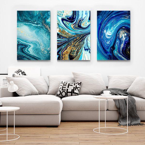 Tablou multi canvas Amestec de univers 1
