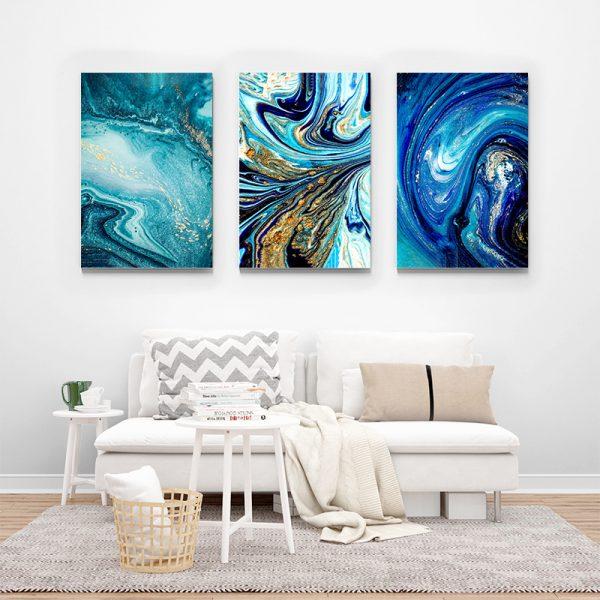 Tablou multi canvas Amestec de univers 2