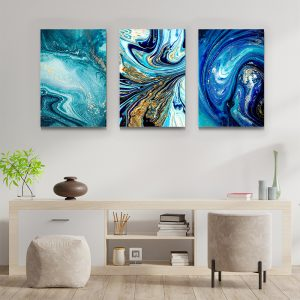 Tablou multi canvas Amestec de univers 3