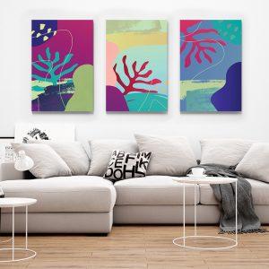 Tablou multi canvas Natura si culoare 1
