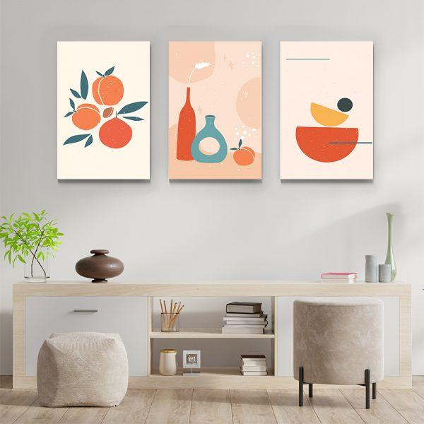 Tablou multi canvas Obiecte retro 1