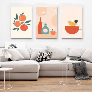 Tablou multi canvas Obiecte retro 3